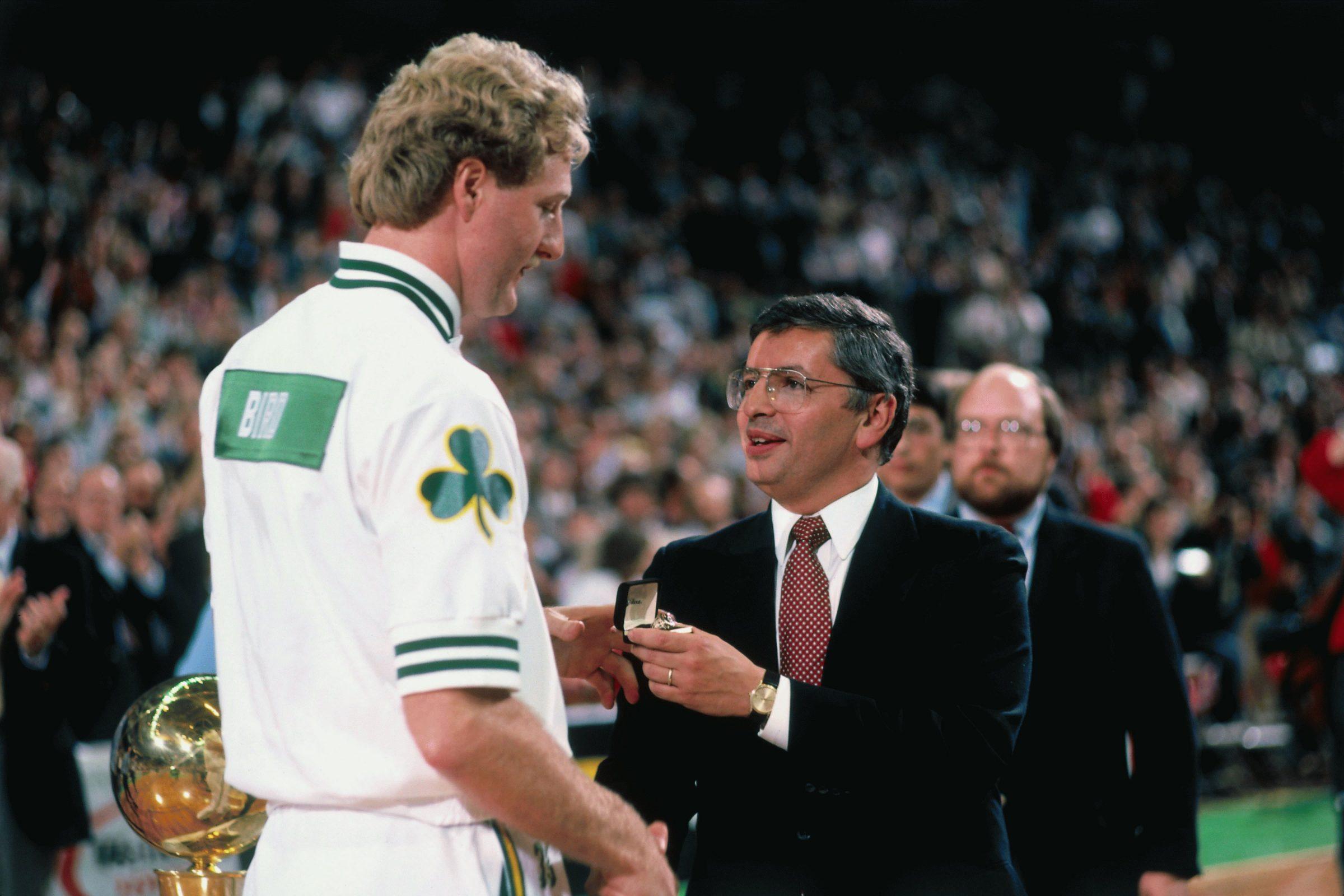 Boston Celtics 1984 Championship Ring Ceremony