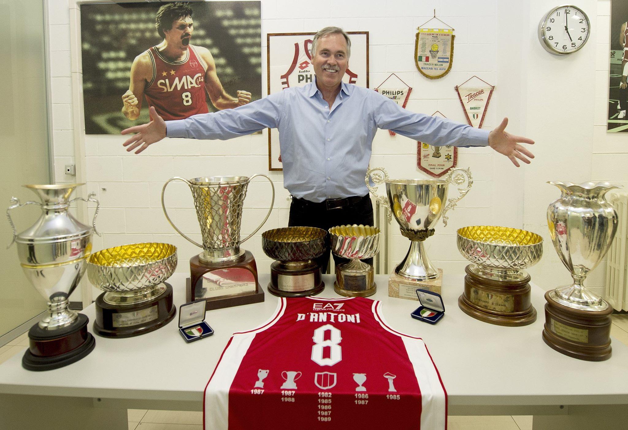 Mike D'Antoni en Milan